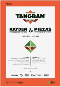 El tour 'Tangram' dará comienzo en las dos ciudades andaluzas