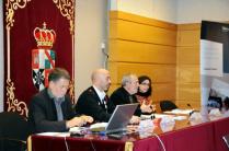 José Fernández, Joan Cruz, Antonio Laguna y Elisa Bayo.
