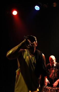 C. Terrible durante su actuación. Fotografía por Celestino Díaz.