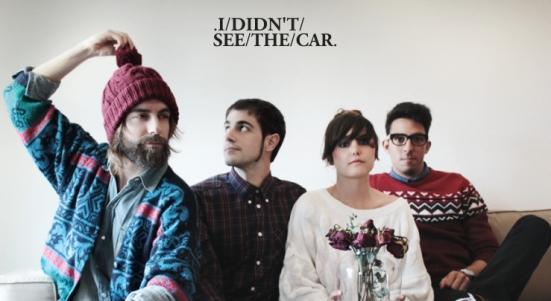 Fotografía promocional de I didn't see the car.