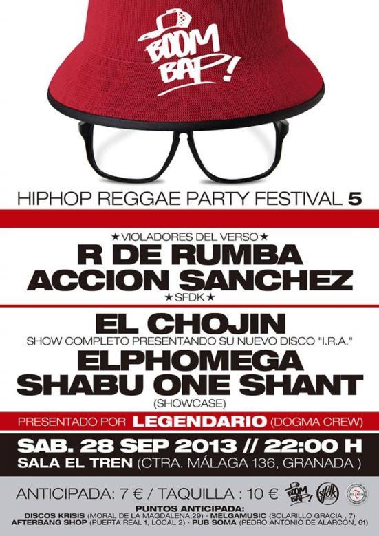 Cartel de la nueva edición del festival Boom Bap.