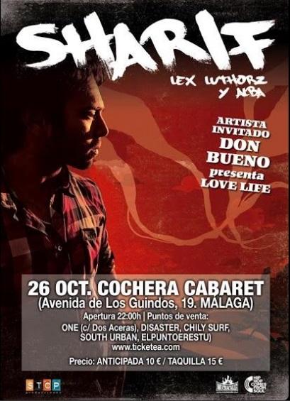 Sharif. 26 de octubre Cochera