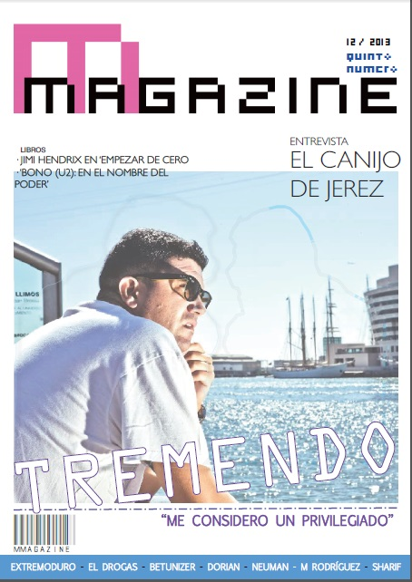 Tremendo ocupa la portada del 5º número: http://issuu.com/magomagazine/