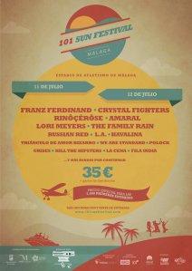 Cartel del festival a falta de más confirmaciones.