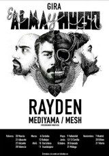 Rayden logra el 'sold out' en Granada un mes antes de suconcierto