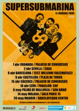 Granada, primera fecha de 'El Mañana Tour' deSupersubmarina