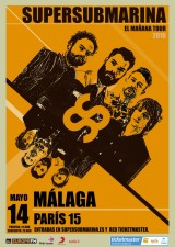 Supersubmarina en Málaga: 14 de mayo en la Paris15