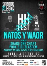 El HH South Fest llega a Málaga con la actuación de Natos yWaor